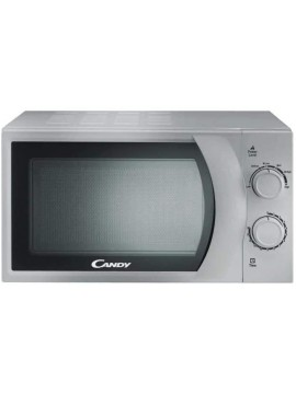 Candy CMW2070S Micro-ondes Mécanique 20L Silver
