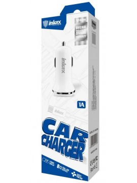 Chargeur Voiture INKAX  CC-37 1A BLANC